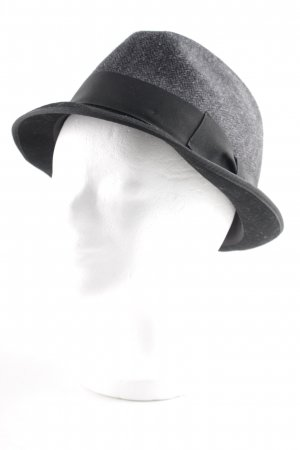 Dolce & Gabbana Panama Hat black-grey zigzag pattern street-fashion look