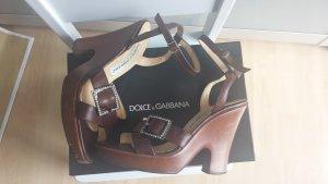 Dolce&Gabbana /Plateau Sandaletten