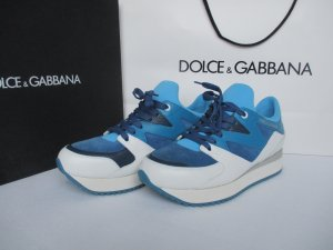 Dolce & Gabbana Sneaker multicolore Pelle