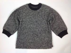 Dolce & Gabbana Pullover gefüttert schwarz/weiß Gr. IT 42 D 36