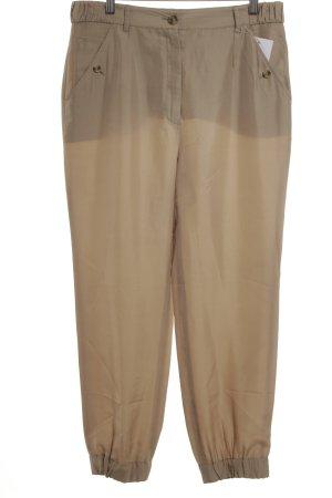 Dolce & Gabbana Pantalon large beige élégant