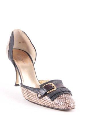 Dolce & Gabbana Pumps goldfarben-schwarz Elegant