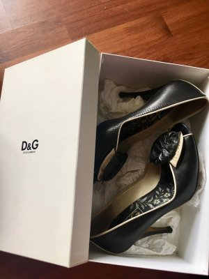 Dolce&Gabbana Pumps High Heels Schleife