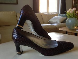 Dolce & Gabbana Pumps Kroko 38,5