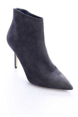 Dolce & Gabbana Reißverschluss-Stiefeletten grau Eleganz-Look