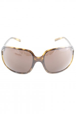 Dolce & Gabbana Retro Glasses dark brown-light brown casual look