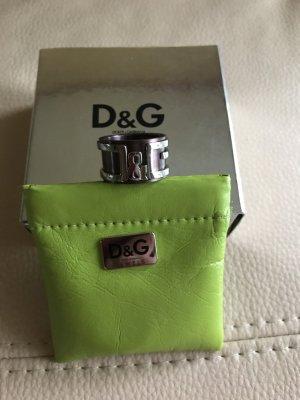 Dolce&Gabbana Ring Edelstahl Unisex Gr 58