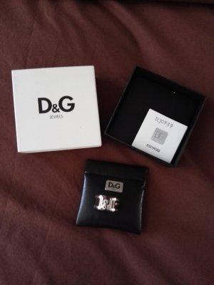 Dolce & Gabbana Ring NEU kupfer braun silber unisex