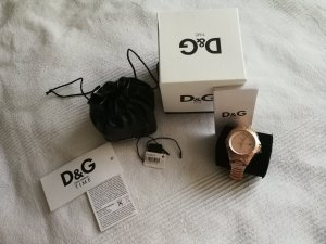 Dolce&Gabbana Rosé Gold Uhr Neu