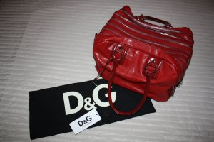 DOLCE & GABBANA Runway Tasche Lily Bag 7-Zip, Rot Leder DIE IT-BAG