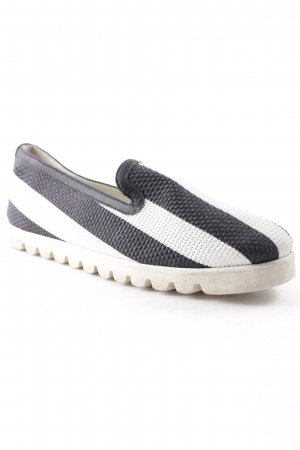 Dolce & Gabbana Schlüpfsneaker schwarz-weiß Street-Fashion-Look