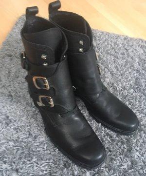 Dolce & Gabbana Schnürstiefel schwarz 41