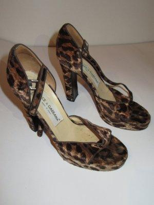 Dolce&Gabbana Schuhe High Heels Leo Gr. 36