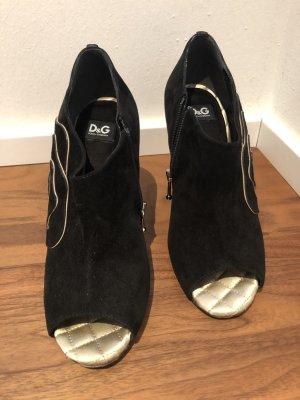 Dolce & Gabbana schwarz 37,5