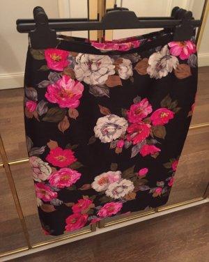 Dolce & Gabbana Seidenrock mit Blumenprint