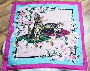 Dolce & Gabbana Silk Cloth multicolored cashmere