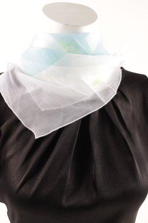 Dolce & Gabbana Seidentuch Schriftzug gedruckt Transparenz-Optik