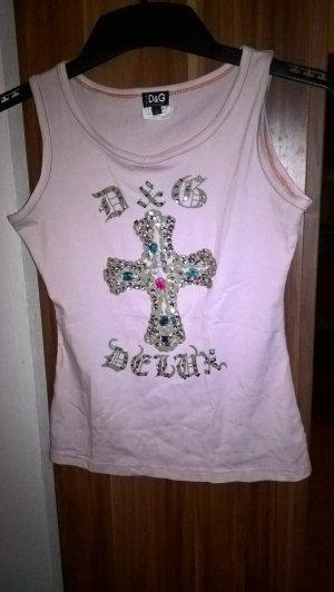 Dolce & Gabbana Empire shirt stoffig roze Gemengd weefsel