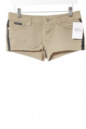 Dolce & Gabbana Shorts beige-schwarz Casual-Look