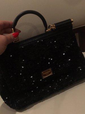 Dolce&Gabbana Sicily Bag mit Pailetten