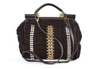 Dolce & Gabbana Sicily Crochet Bag