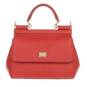 Dolce & Gabbana Handtas rood Leer