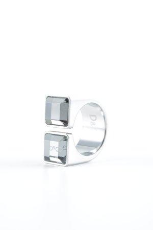 Dolce & Gabbana Zilveren ring zilver extravagante stijl