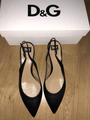 Dolce & Gabbana Slingback pumps zwart