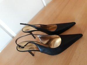 Dolce & Gabbana Slingback pumps zwart Leer