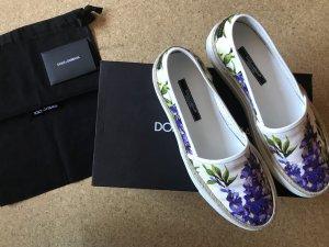 Dolce & Gabbana Slipper Blumenprint Gr.38