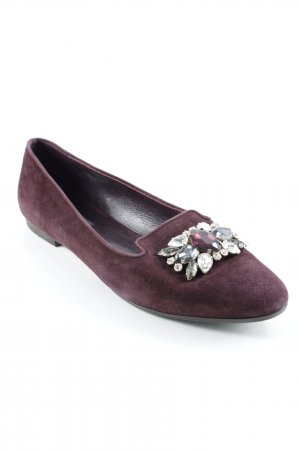 Dolce & Gabbana Slippers bordeaux business style