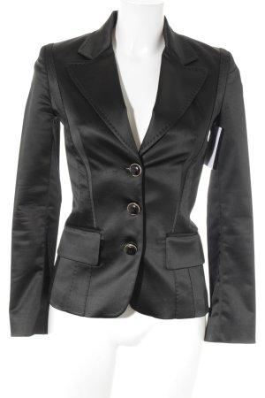Dolce & Gabbana Blazer de esmoquin negro elegante