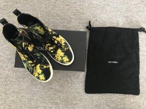 Dolce & Gabbana Sneaker Blumenprint Gr. 37