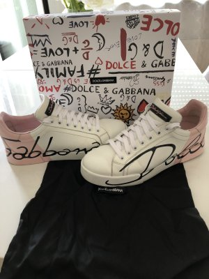 Dolce & Gabbana Sneaker stringata multicolore