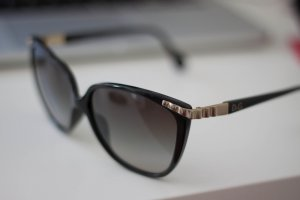 Dolce & Gabbana Glasses black-gold-colored synthetic material