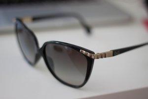 Dolce & Gabbana Lunettes noir-doré matériel synthétique