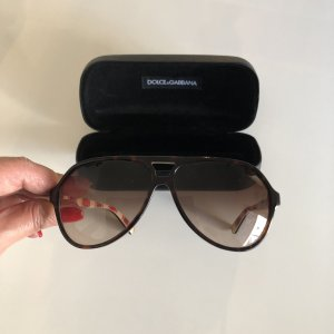 Dolce & Gabbana Sunglasses black brown
