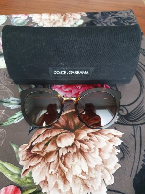 Dolce & Gabbana Round Sunglasses brown