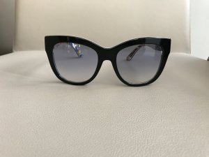 Dolce & Gabbana Angular Shaped Sunglasses black synthetic material