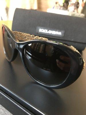 Dolce & Gabbana Zonnebril zwart-goud