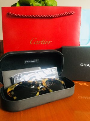 Dolce & Gabbana Round Sunglasses multicolored