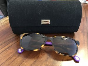 Dolce & Gabbana Oval Sunglasses brown-lilac