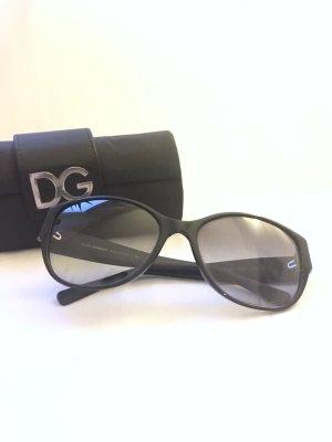 Dolce & Gabbana Ronde zonnebril zwart