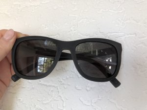 Dolce & Gabbana Angular Shaped Sunglasses black-silver-colored