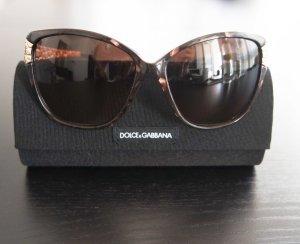 Dolce & Gabbana Sonnenbrille mit dekorativen Golddetails