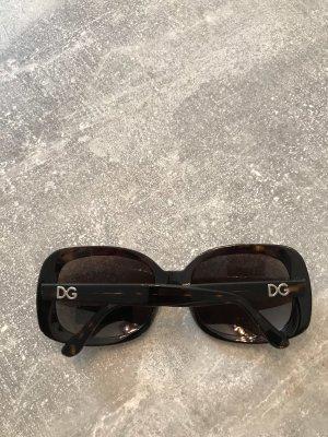 Dolce & Gabbana Retro Glasses brown