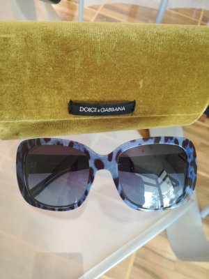 Dolce & Gabbana Angular Shaped Sunglasses steel blue