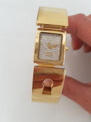 Dolce & Gabbana Fermoir de montre argenté-doré bronze