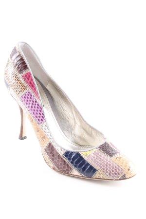 Dolce & Gabbana Spitz-Pumps Colourblocking extravaganter Stil