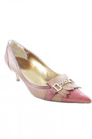 Dolce & Gabbana Spitz-Pumps mehrfarbig Business-Look